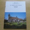 History of the Parish Church of St Mary and All Saints, Ellingham, Hampshire.