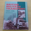 British Military Transport 1829-1956.