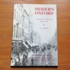 Modern Oxford: A History of the City from 1771.
