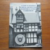 A Guide to the Buildings of Special Architectual or Historical Interest in Shrewsbury.