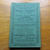 Shropshire and West Midland Agricultural Society: Fortieth Annual Show at Shrewsbury, Thursday and Friday June 23rd and 24th, 1921 - Offical Catalogue.