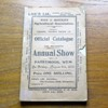 Wem and District Agricultural Association: Official Catalogue of the Fifteenth Annual Show - Friday, August 6th, 1920.