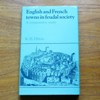 English and French Towns in Feudal Society: A Comparative Study.
